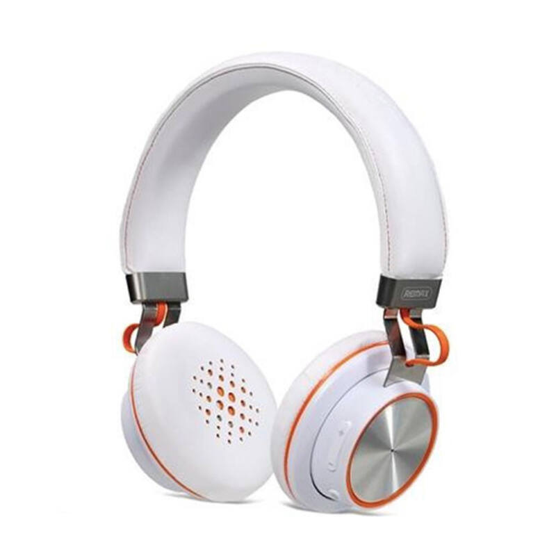 Remax RB-195HB Bluetooth Fejhallgató - Fehér