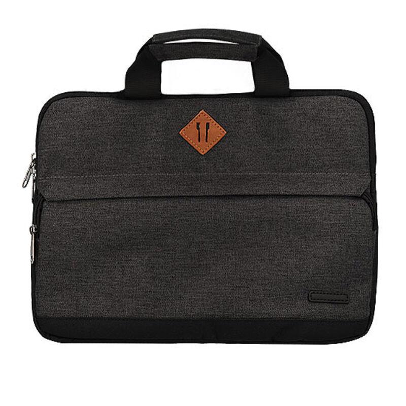 Univerzális Fashion Laptop-Notebook táska 15,5 - Sötétszürke