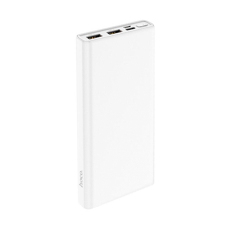 Hoco J55 Neoteric Power Bank 10000 mAh 2x USB, Fehér