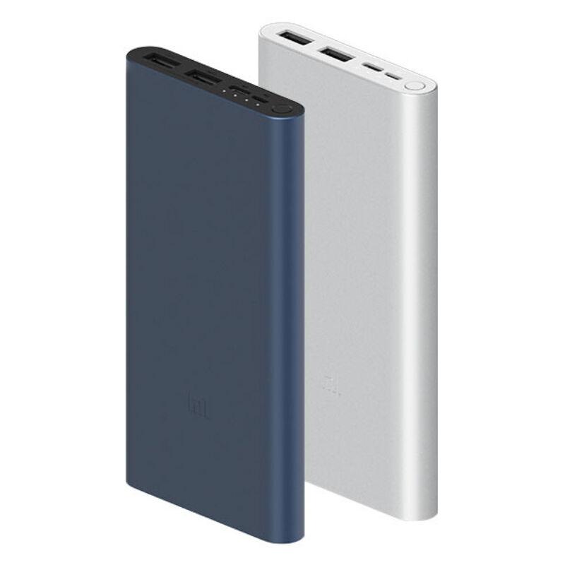 Xiaomi Mi 18W 10000 mAh Fast Charge Powerbank 3, Fekete