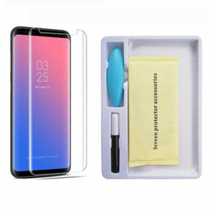 Full Glue Liquid Glass UV Folyékony Üvegfólia Huawei Mate 20 Lite - UV LED lámpával