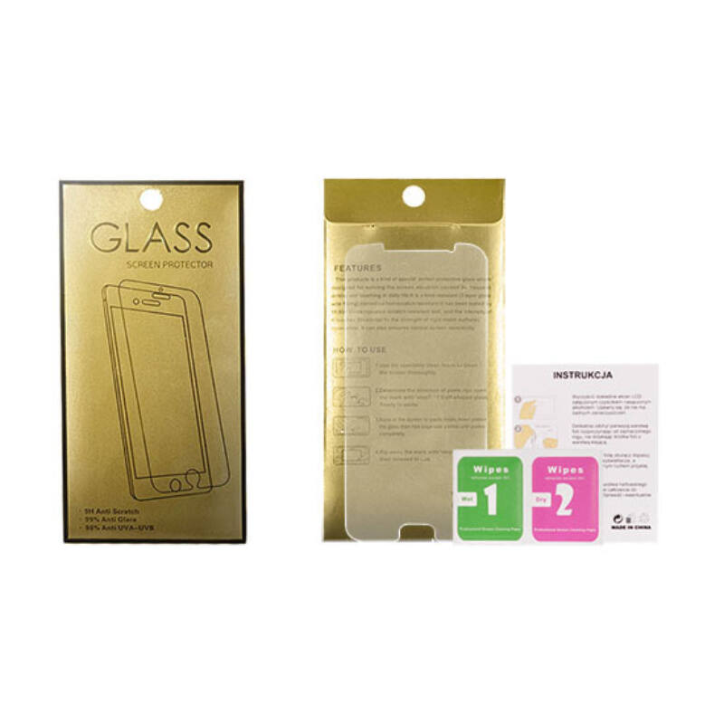 Glass Gold Üvegfólia 9H Honor 10