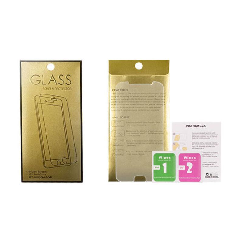 Glass Gold Üvegfólia 9H Huawei P20