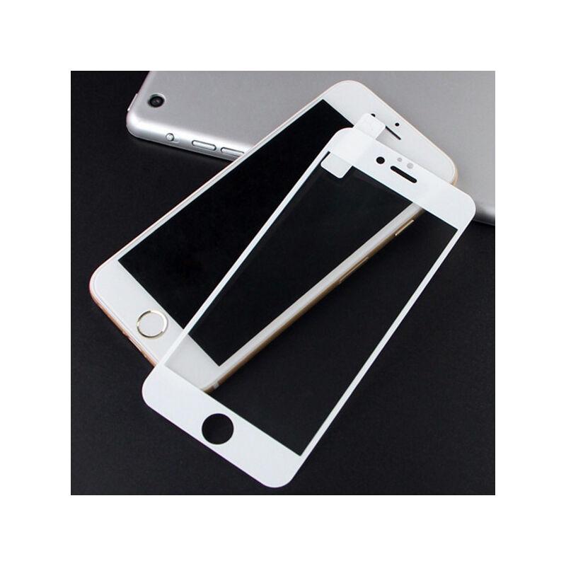 Smart Glass 5D Full Screen Üveglap 9H iPhone 6-6S - Fehér kerettel