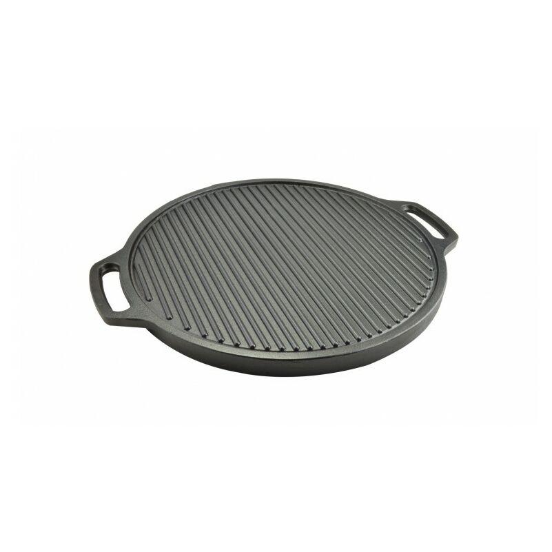 Perfect Home 12972 Öntöttvas grill lap kerek 2 oldalas