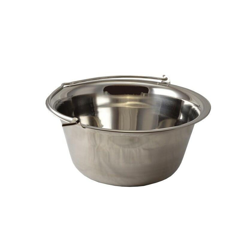 Perfect Home 13958 Rozsdamentes bogrács 30 liter szegecselt fül nehéz