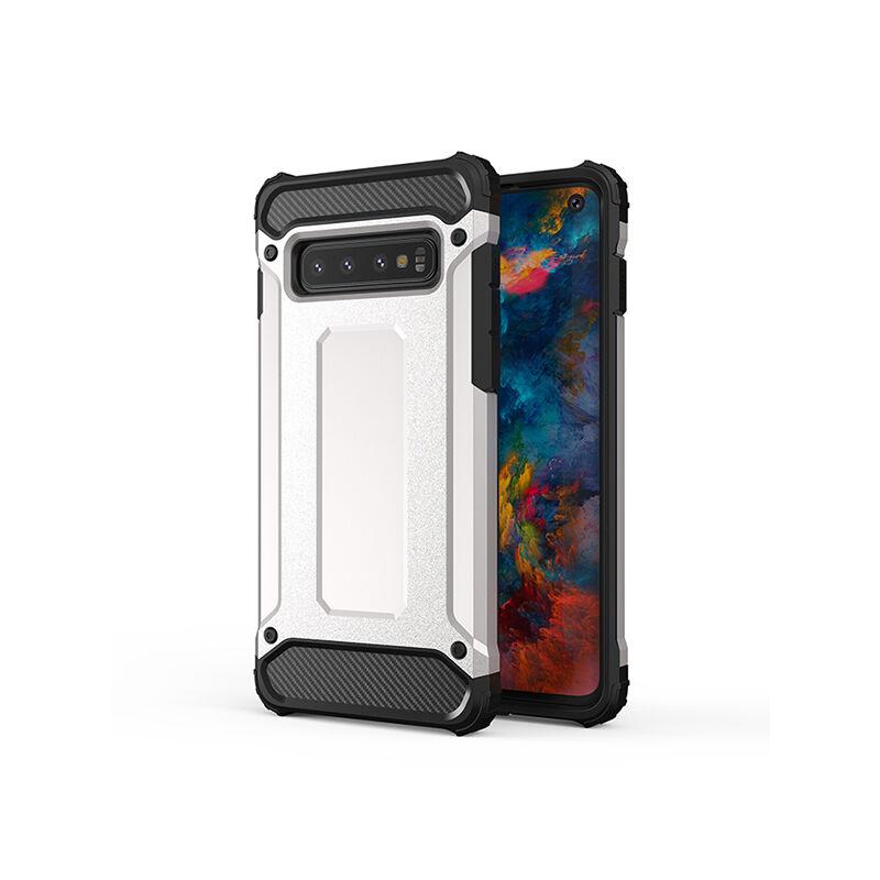 Armor Karbon Hátlap Tok, Motorola G7/G7 Plus Ezüst
